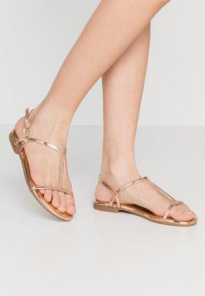 Sandaalit nilkkaremmillä - mirror skin