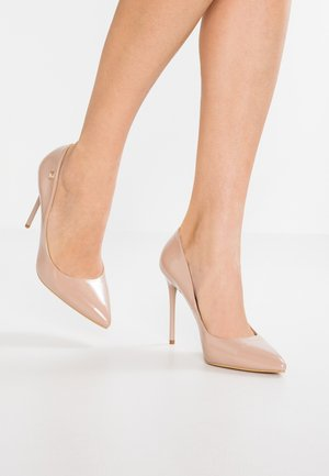 Lodičky na vysokém podpatku - pink