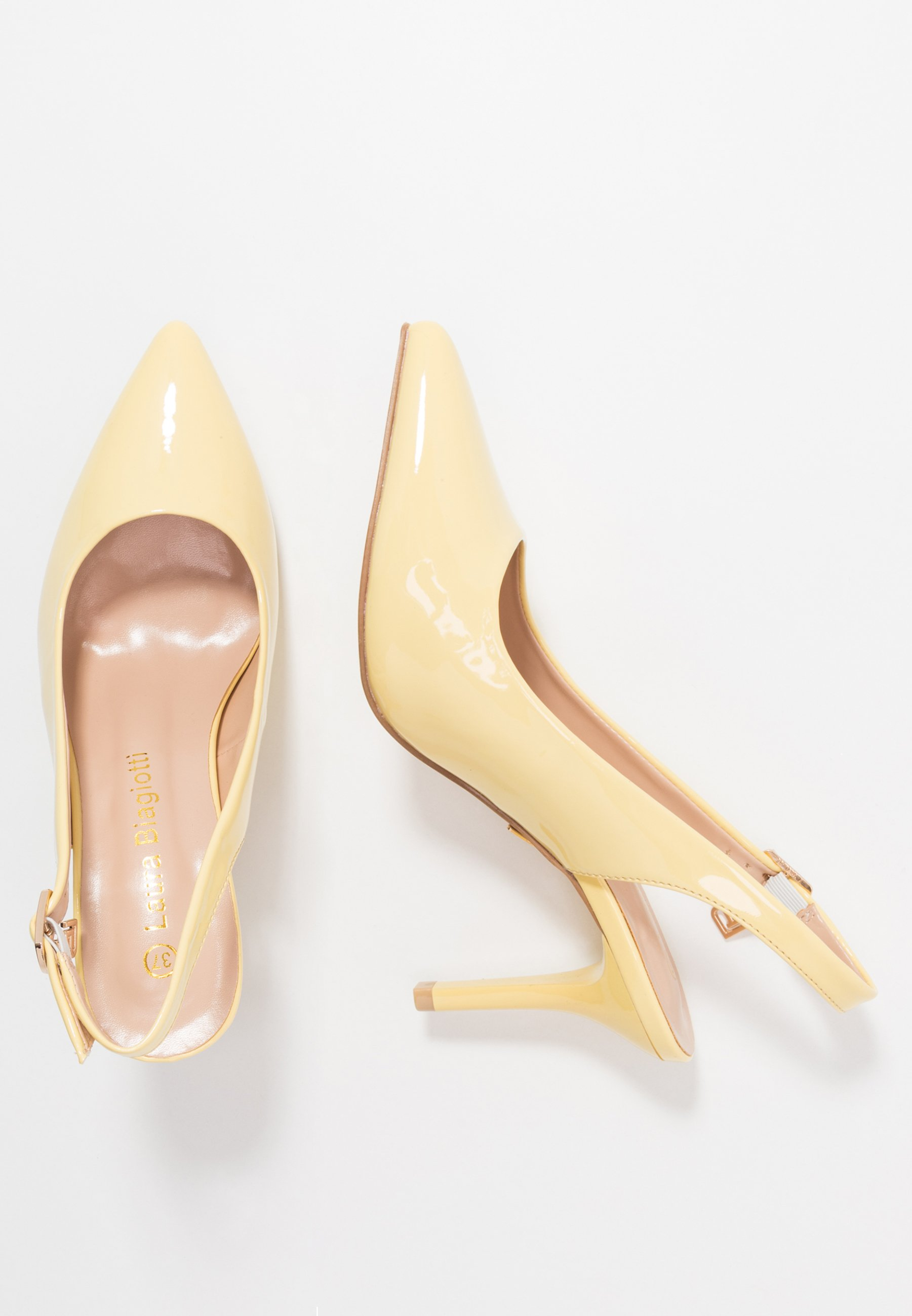 Laura Biagiotti Klassiska Pumps - Lemon