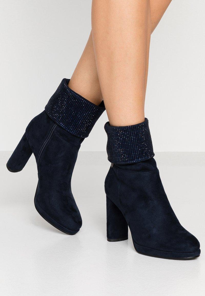 Laura Biagiotti - High heeled boots - blue