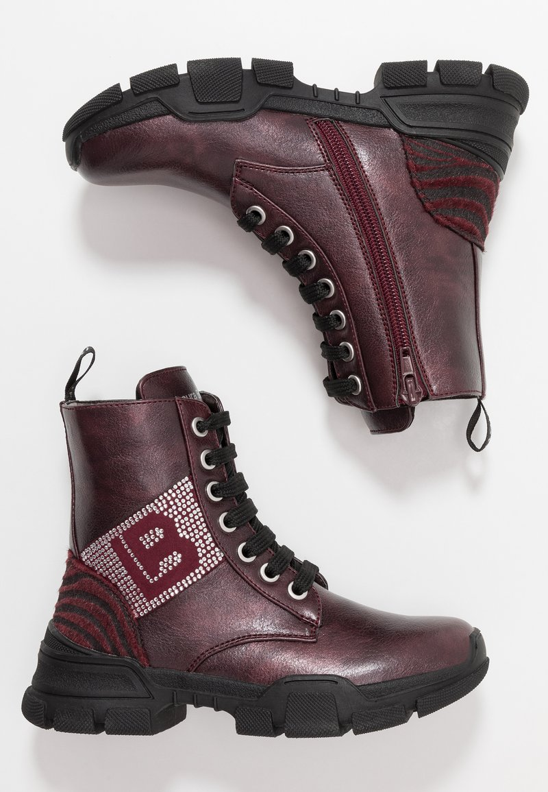 Laura Biagiotti - Kotníkové boty - bordo