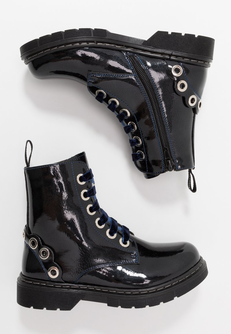 Laura Biagiotti - Lace-up ankle boots - blue