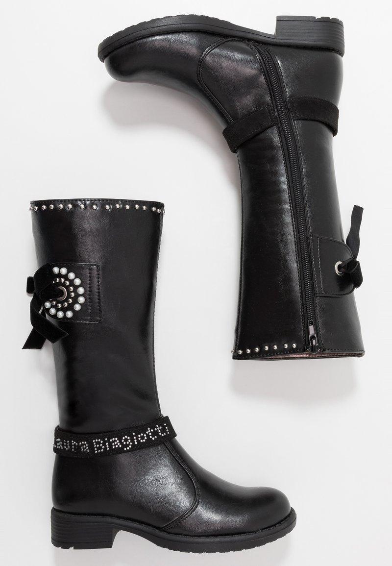 Laura Biagiotti - Vysoká obuv - black
