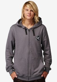 Light Boardcorp - GOGO - veste en sweat zippée - black - 0