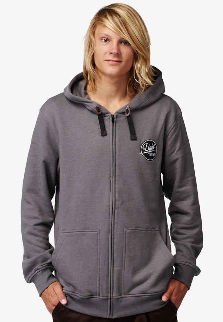 Light Boardcorp - GOGO - veste en sweat zippée - black