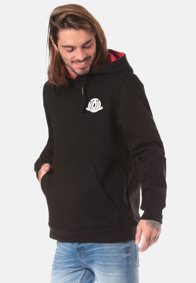REGULAR FIT - Hoodie - black