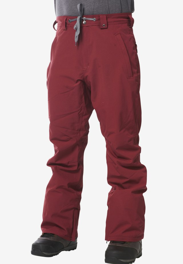 SPECIAL - Snow pants - red