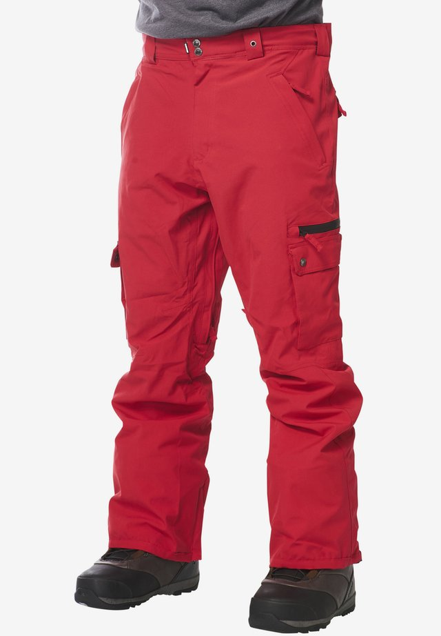 FUSE - Snow pants - red