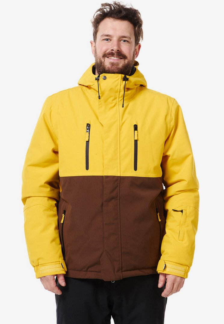 Light Boardcorp - DANZIG - Snowboardjas - yellow