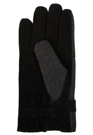GLOVES - Fingervantar - schwarz/grau