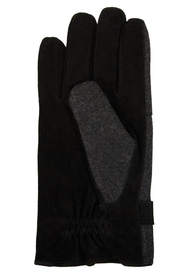 GLOVES - Fingerhandschuh - schwarz/grau