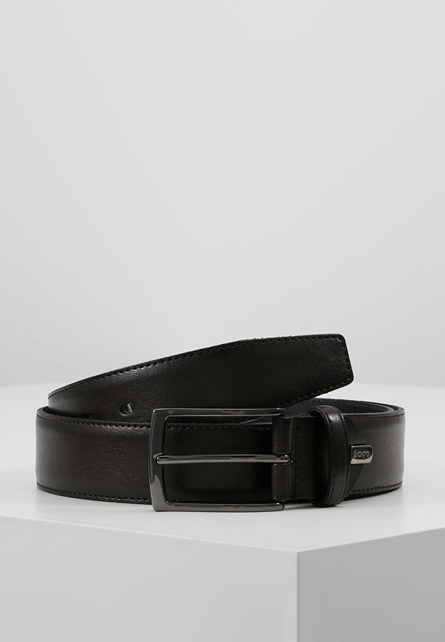 REGULAR BELT - Gürtel business - dark brown