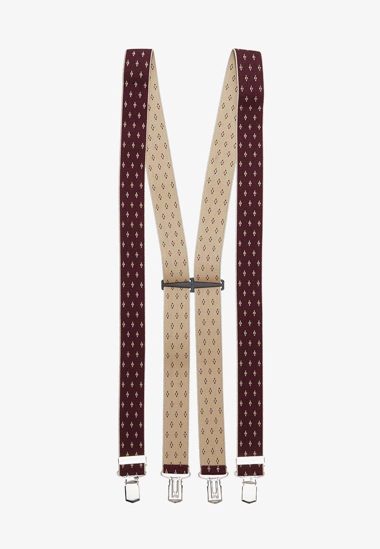 Lloyd Men's Belts - BRACES - Cinturón - red