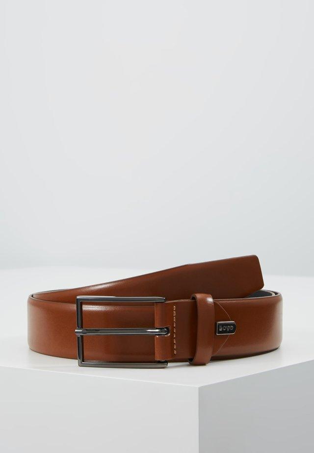 REGULAR - Belt - cognac