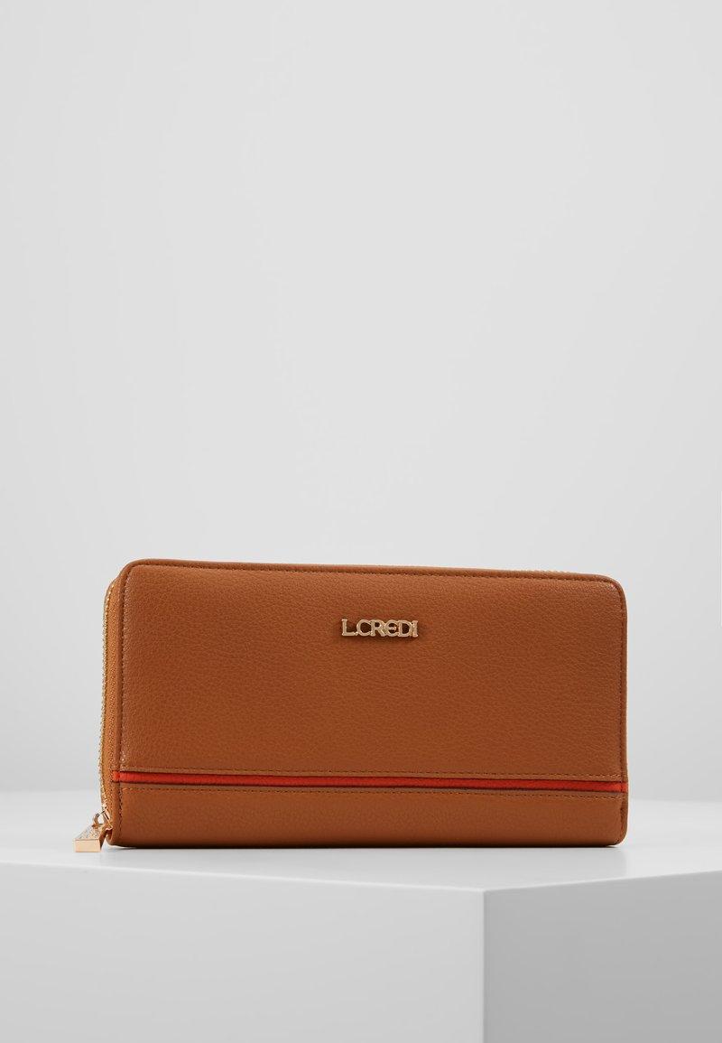 L.Credi - ELISA - Wallet - cognac