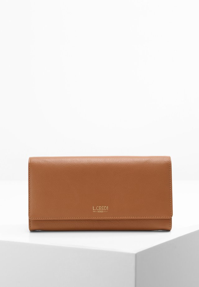 EVELYN - Wallet - cognac