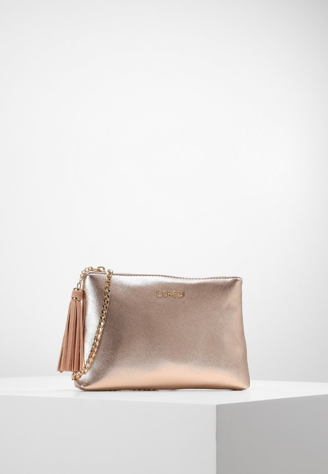 Clutch - rose-gold
