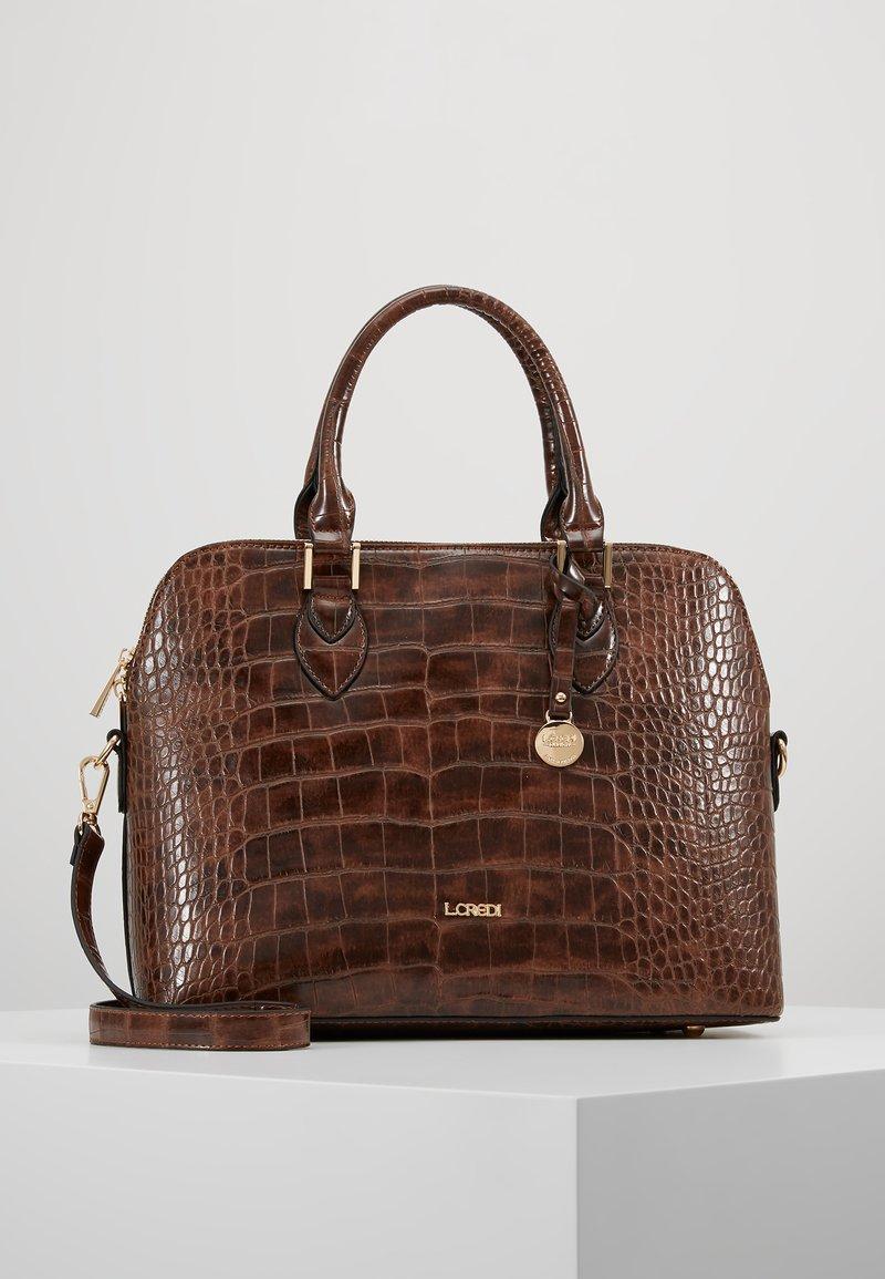 L.Credi - DESIREE - Handtasche - braun