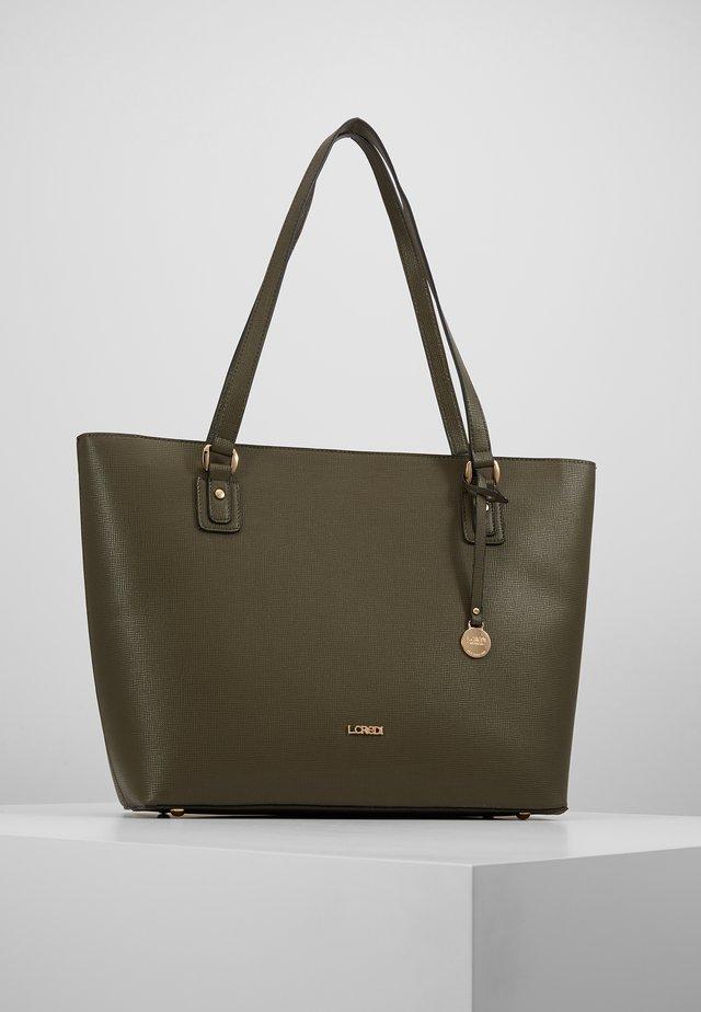 DELILA - Tote bag - khaki