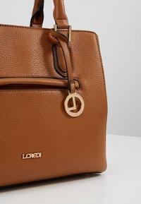 L.Credi - ELECTRA - Handbag - cognac - 6