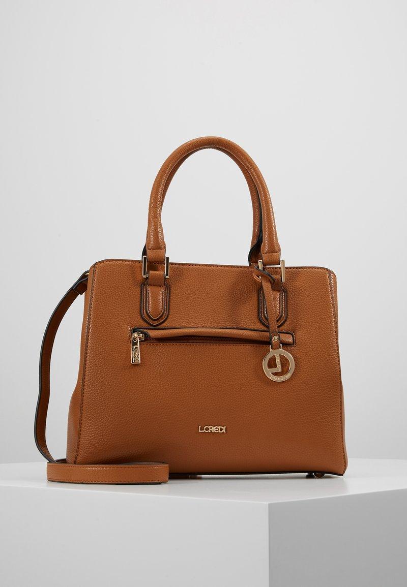 L.Credi - ELECTRA - Handbag - cognac