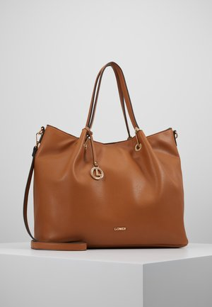 EBONY SET - Shopper - cognac