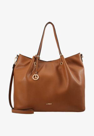 EBONY SET - Shopping bag - cognac