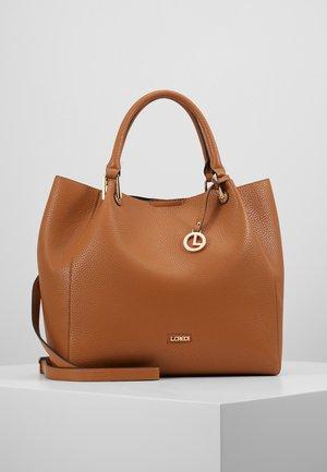 EMBER SET - Handbag - cognac
