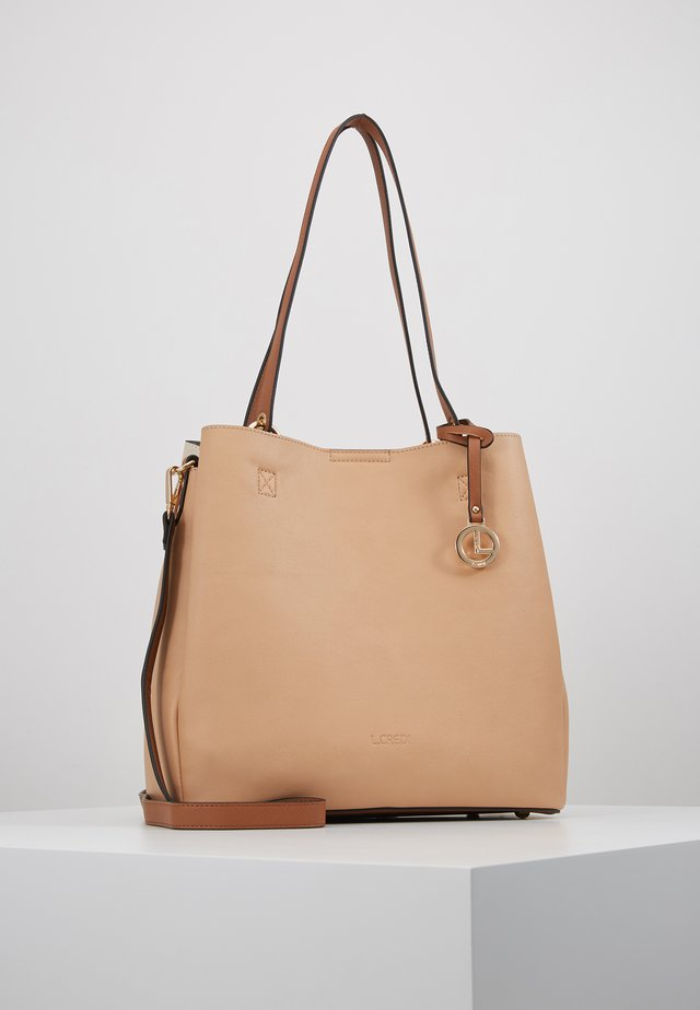 ELYA - Across body bag - beige