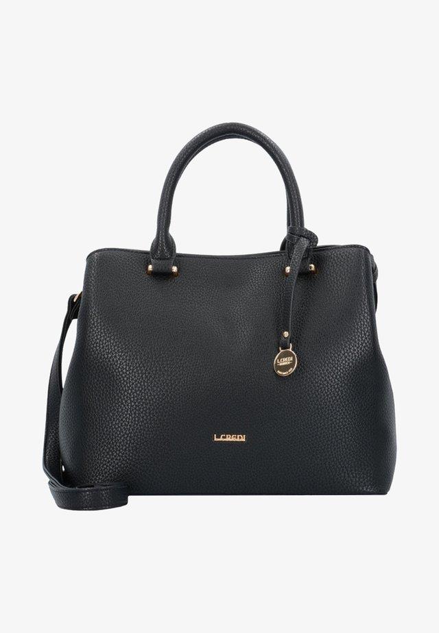 MAXIMA HENKELTASCHE 28 CM - Handbag - black
