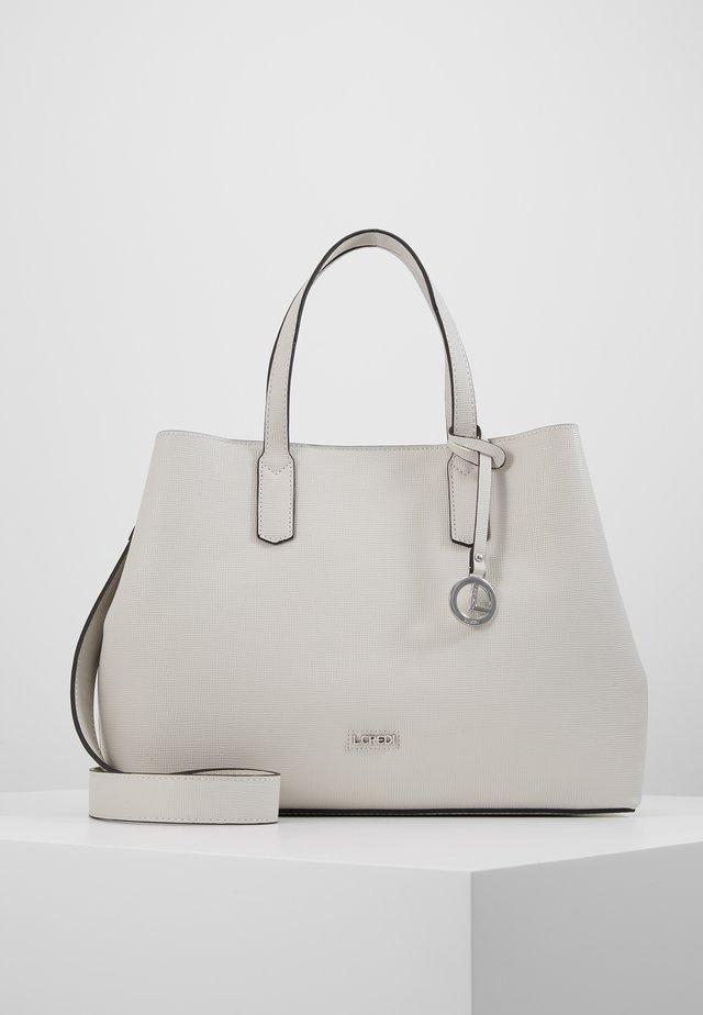 EVITA - Handbag - stone