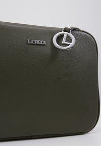 L.Credi - ELISE - Taška spříčným popruhem - khaki - 5
