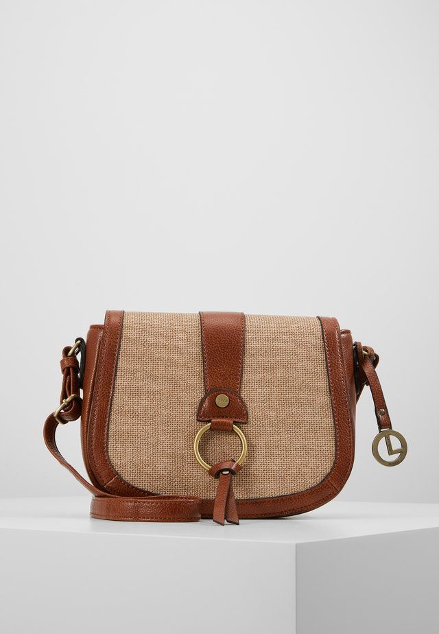 ELDA - Across body bag - cognac