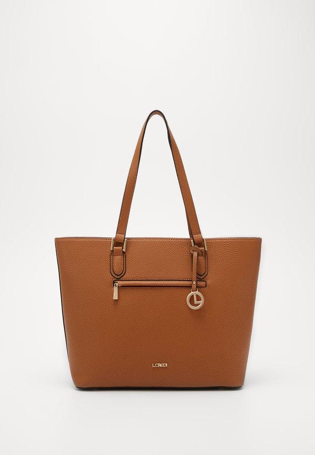 ELLA - Handbag - cognac