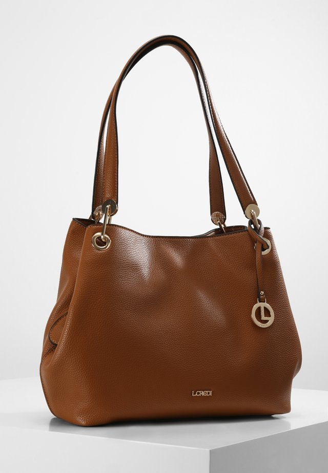 SHOPPER EBONY SHOPPER - Tote bag - cognac