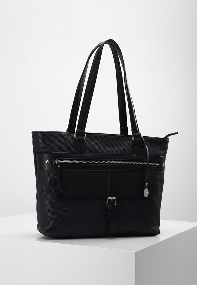 CEZELIA  - Shopping Bag - marine