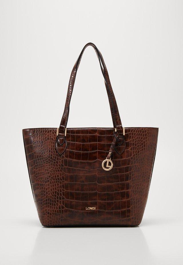 FEODORA - Shopper - braun
