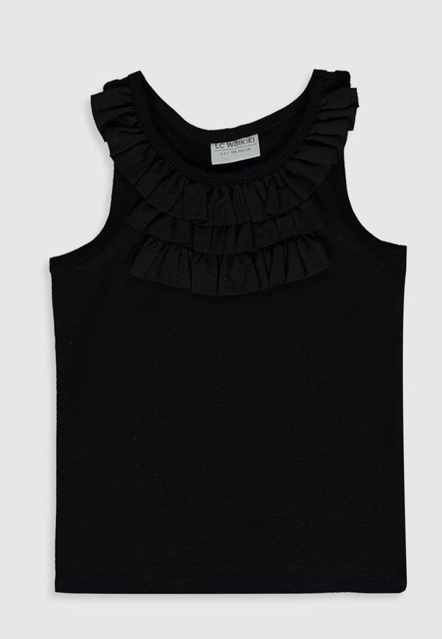 UNTERHEMD - Top - black