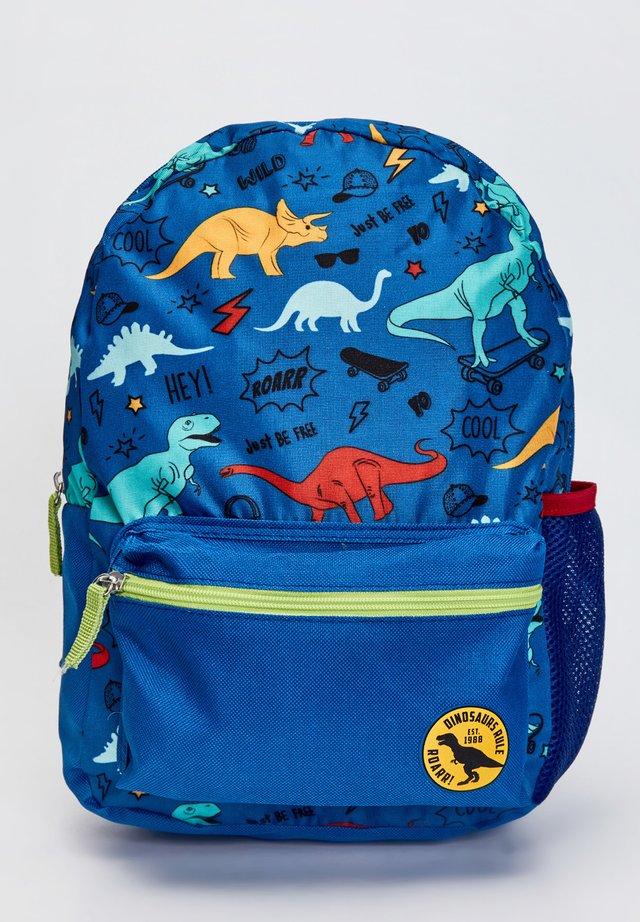School bag - blue