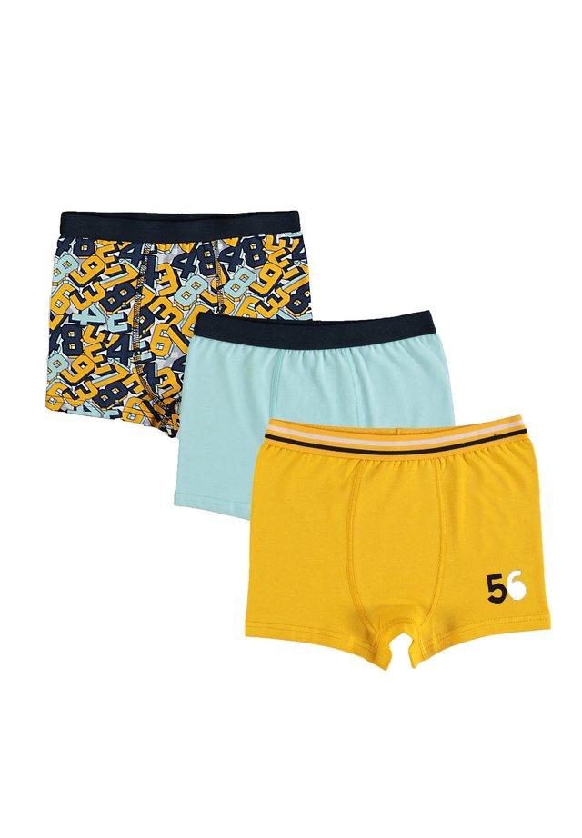 SET - Onderbroeken - yellow