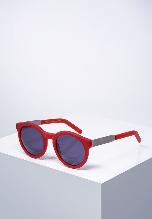 COMPTON - Sunglasses - mat.red
