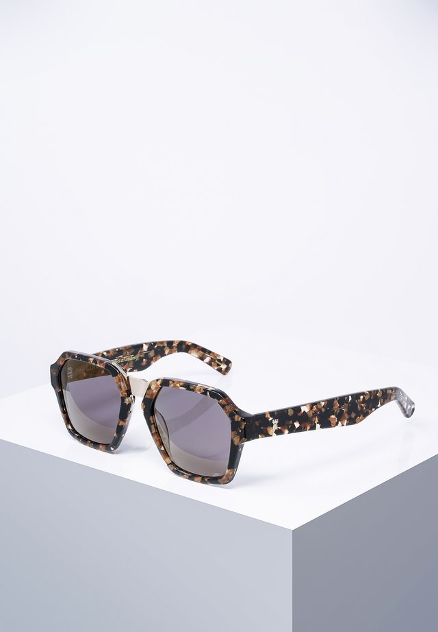 KINGLY - Sunglasses - blk/gldtor