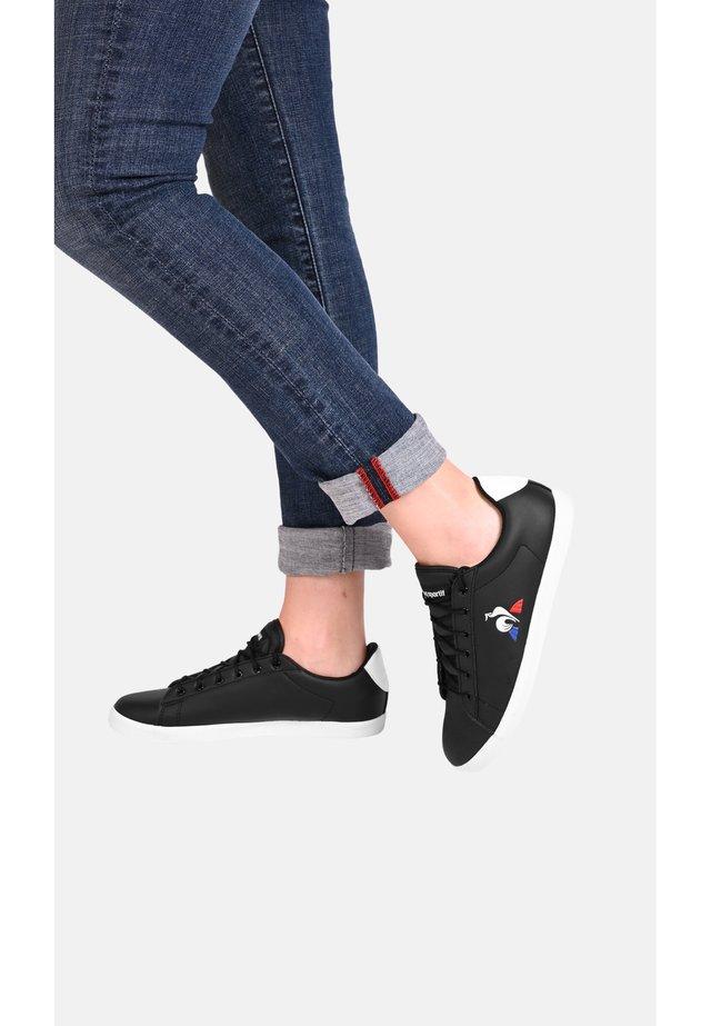 AGATE - Sneakers laag - black
