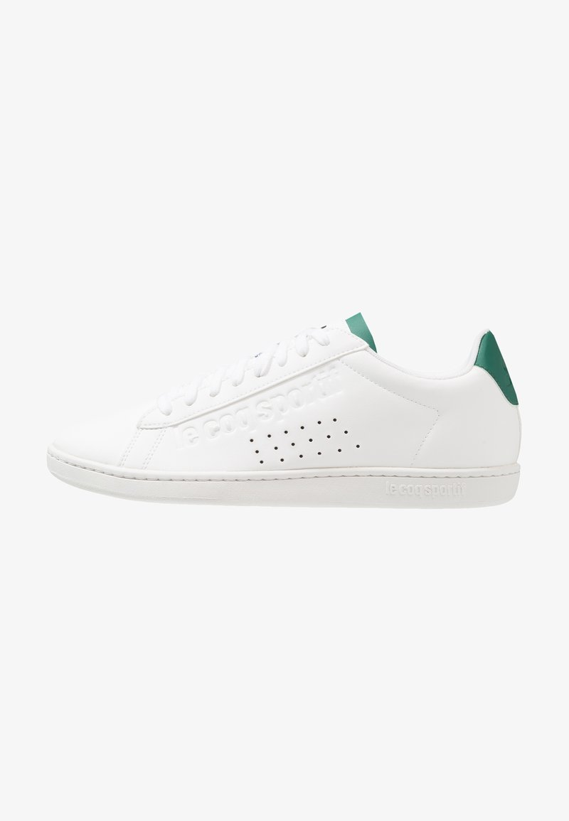 le coq sportif - COURTSET - Sneakers - optical white/evergreen