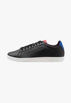 COURTSET - Sneakers basse - black/cobalt