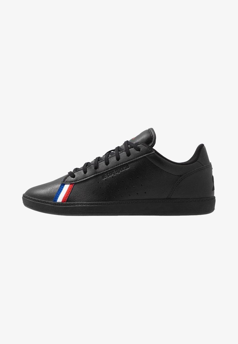 le coq sportif - COURTSTAR SPORT - Zapatillas - triple black