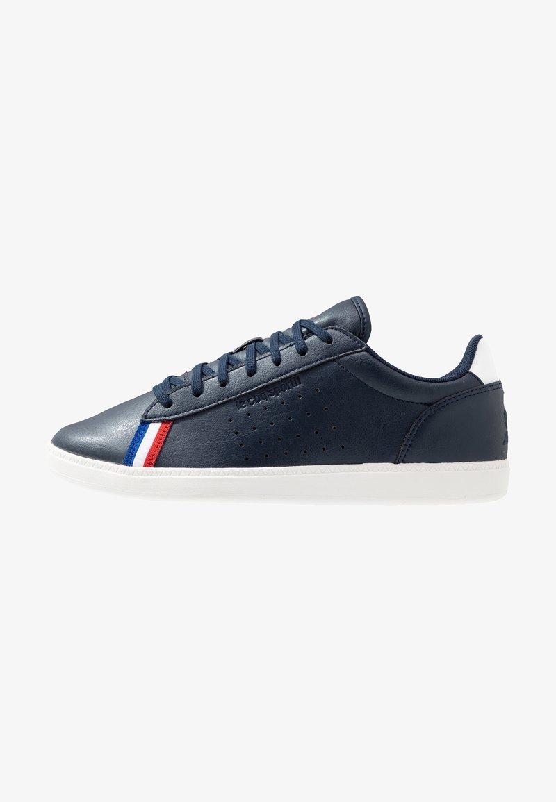 le coq sportif - COURTSTAR SPORT - Sneakers laag - dress blue/optical white