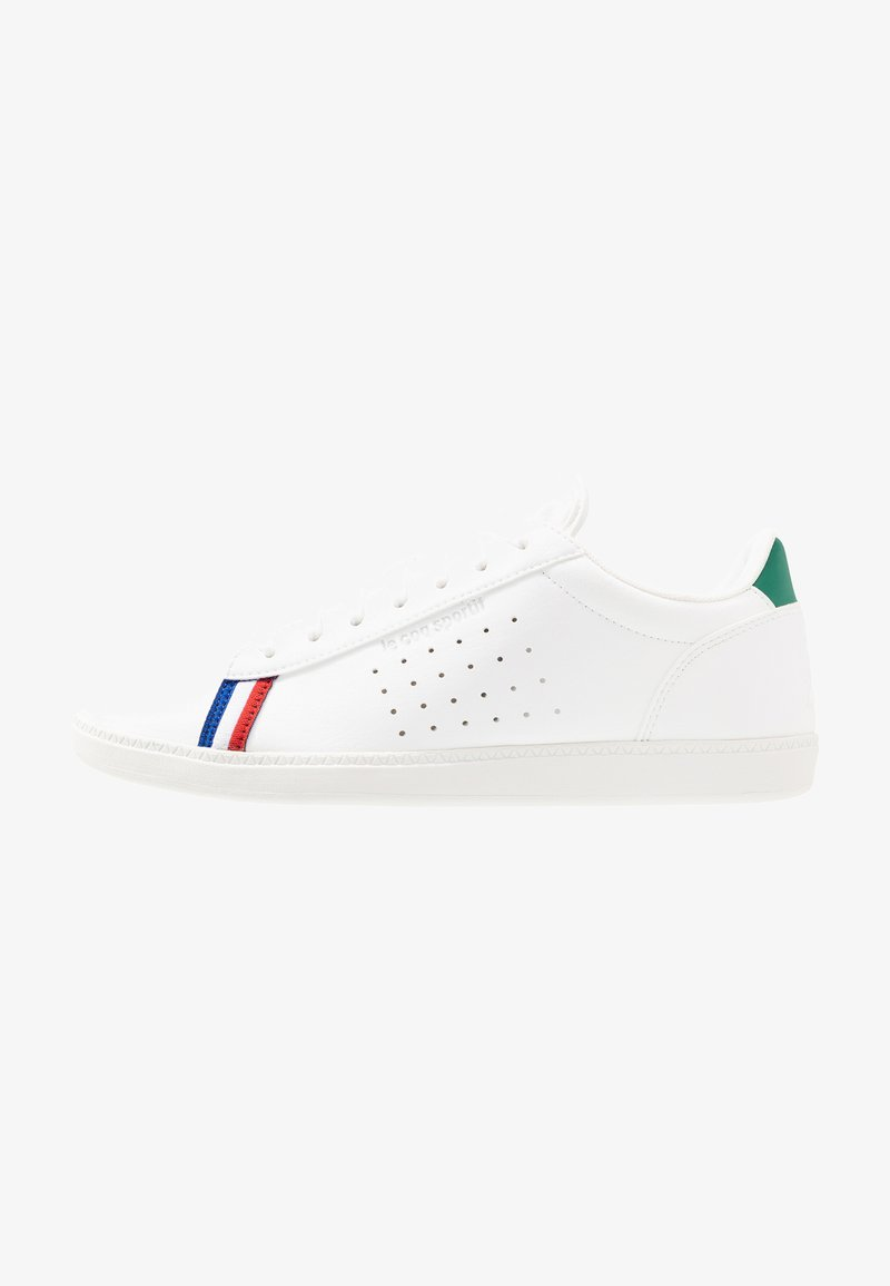 le coq sportif - COURTSTAR SPORT - Sneakers basse - optical white/evergreen