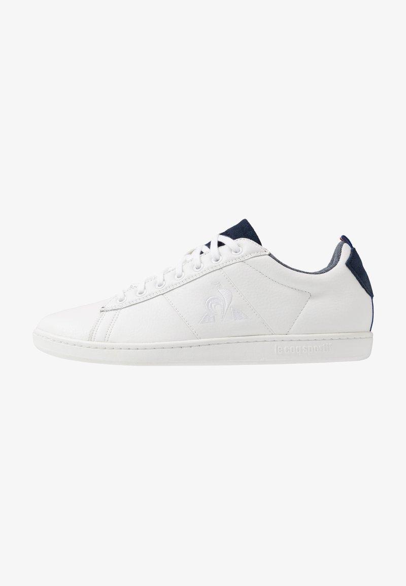 le coq sportif - COURTCLASSIC - Zapatillas - optical white/dress blue