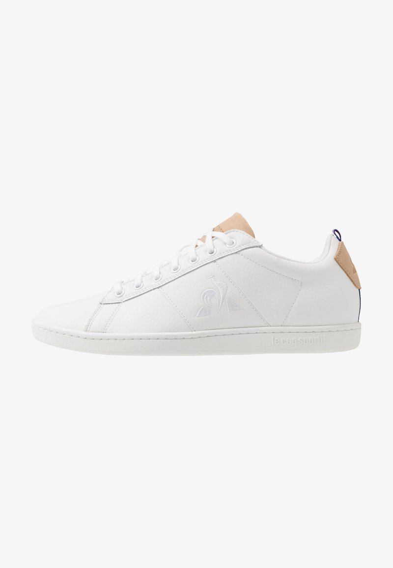 le coq sportif - COURTCLASSIC PRINTEMPS - Sneakers - optical white/tan